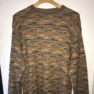 Norm Thompson vintage sweater XL Coogi Like